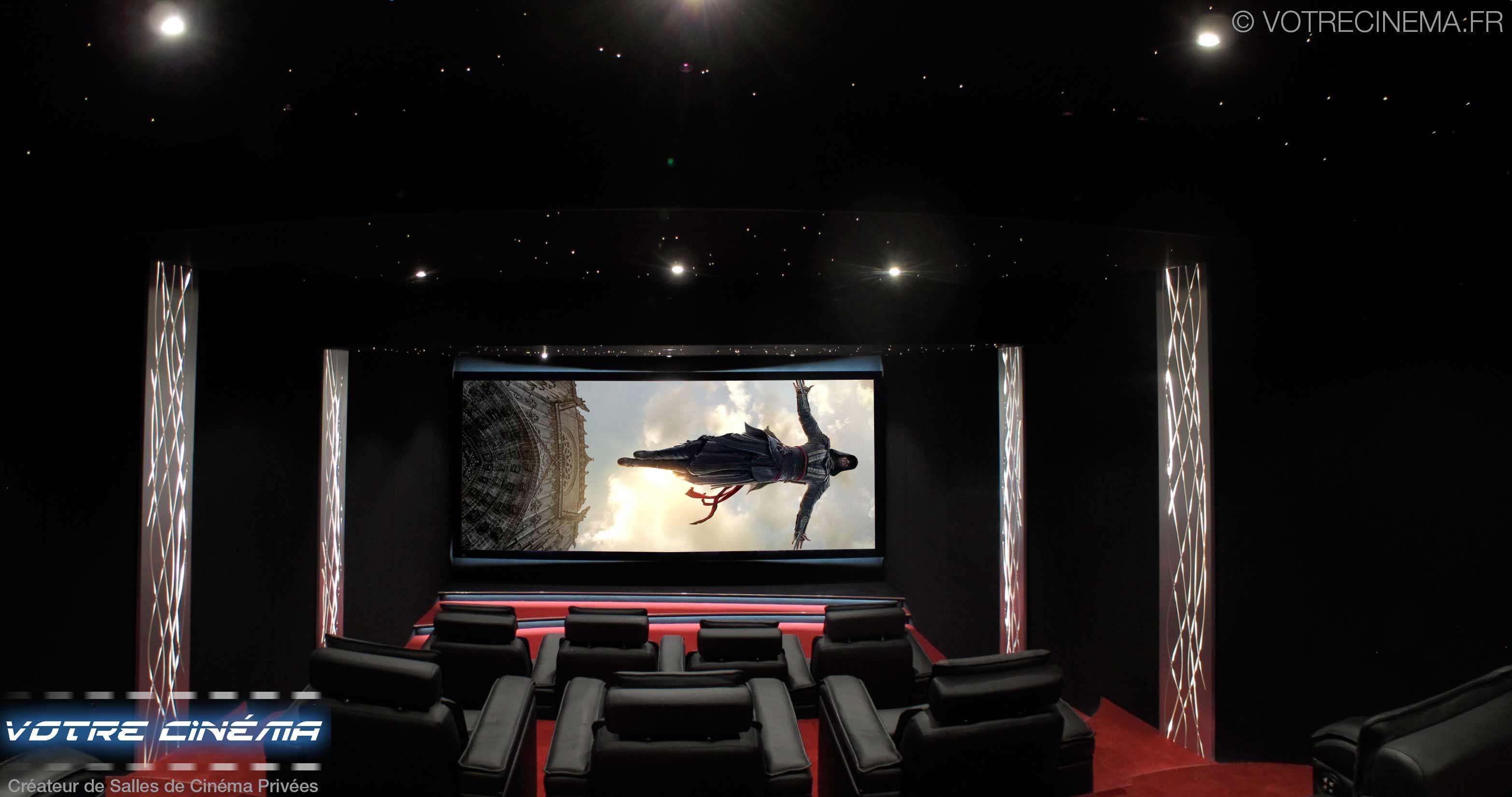 Salle de cinéma privée Abidjan Côte d'Ivoire