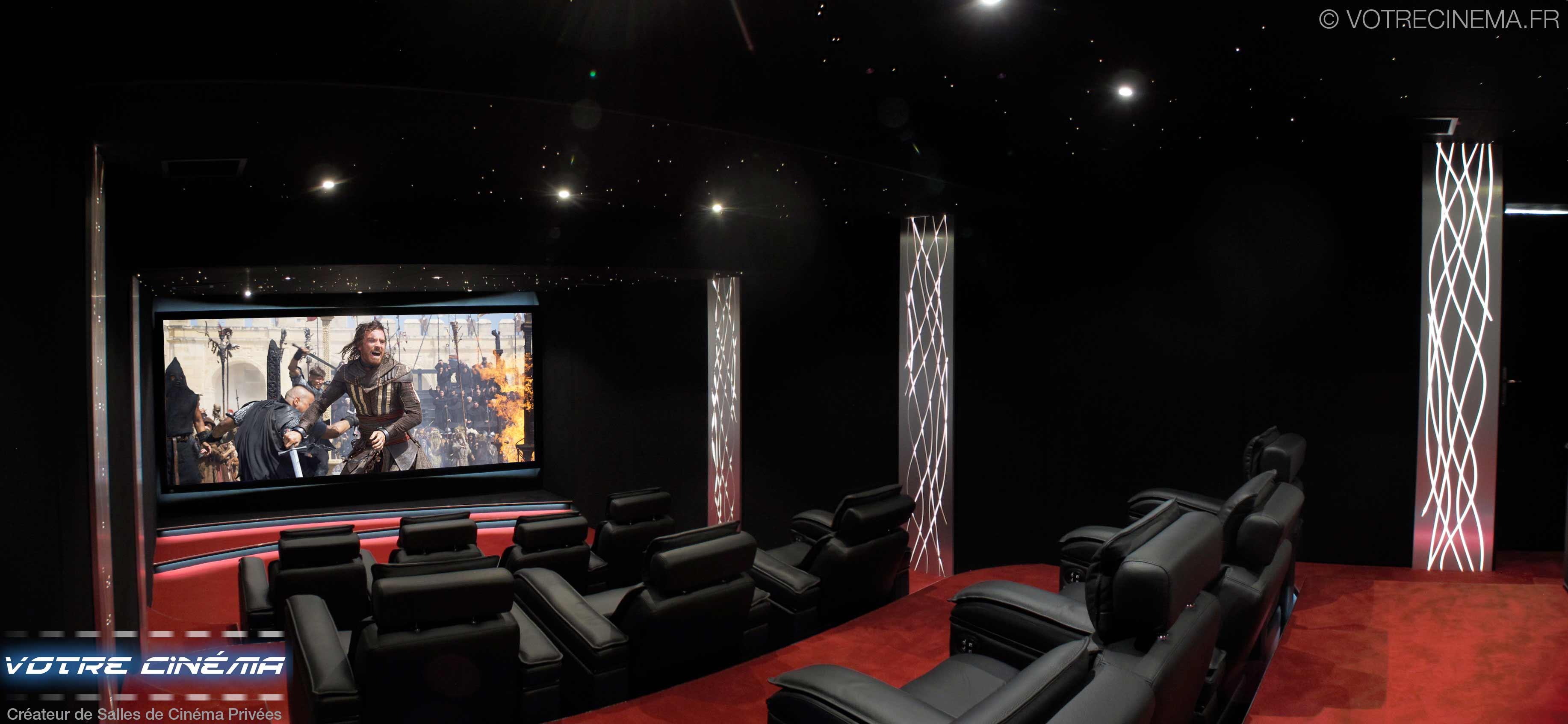 Salle home cinéma Abidjan Côte d'Ivoire