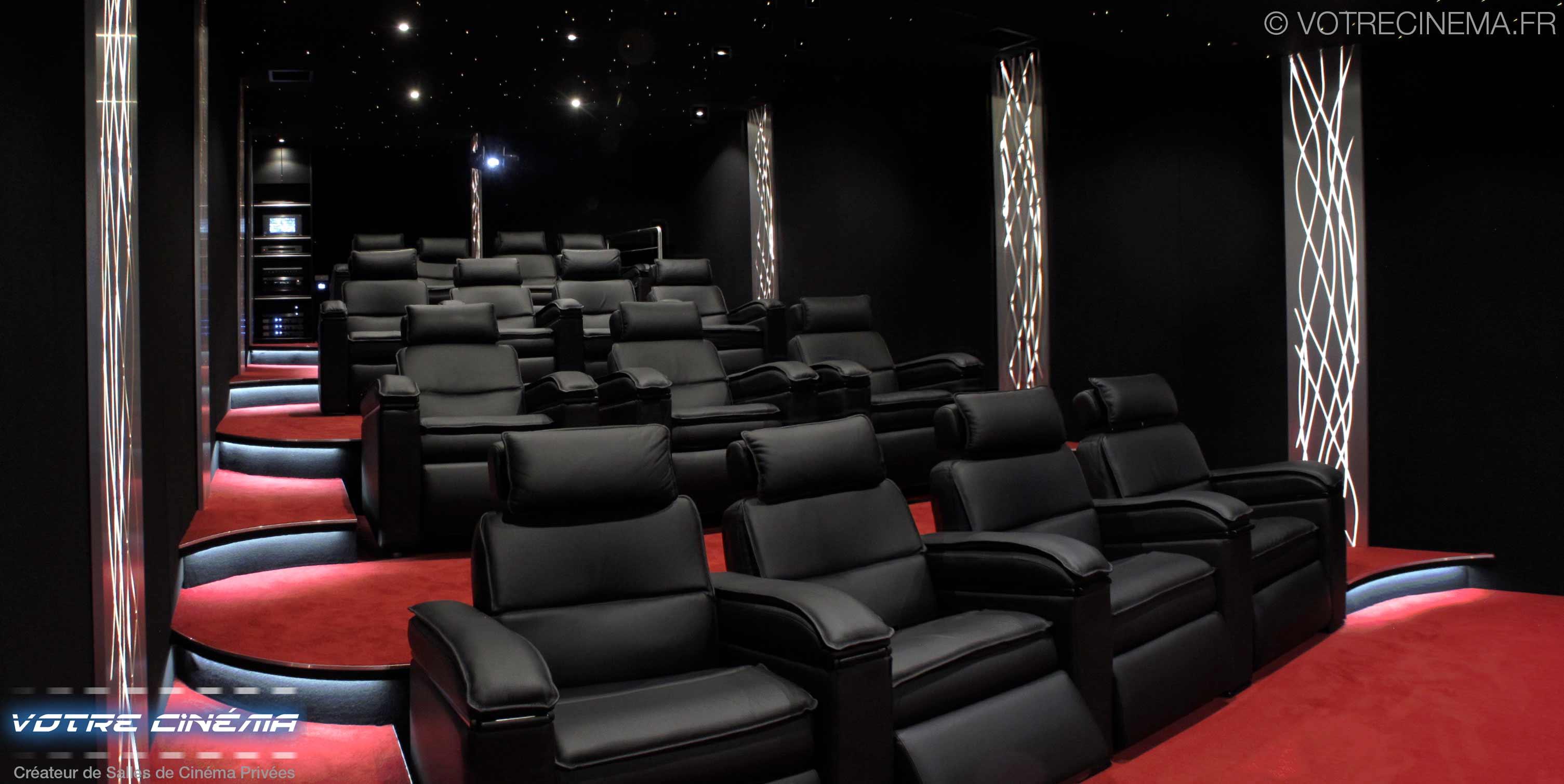 Salle cinéma à domicile Abidjan Côte d'Ivoire