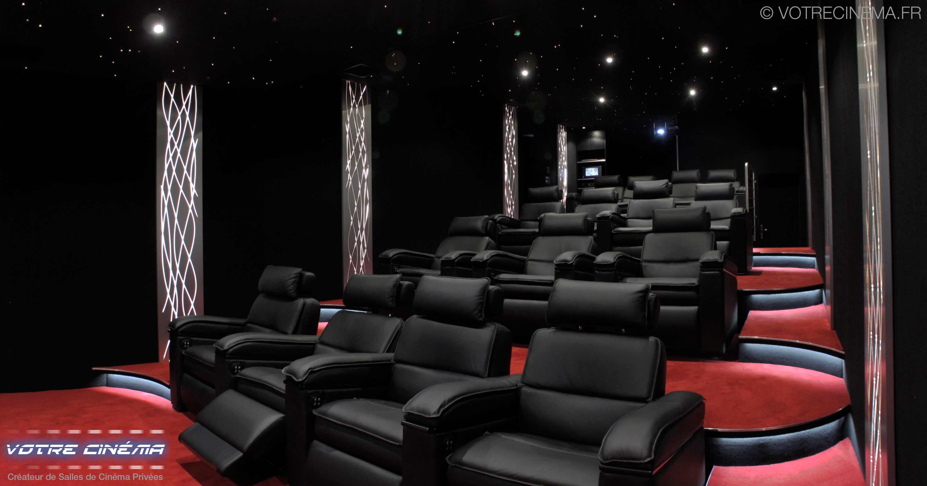 réalisation salle cinéma privée Abidjan Côte d'Ivoire