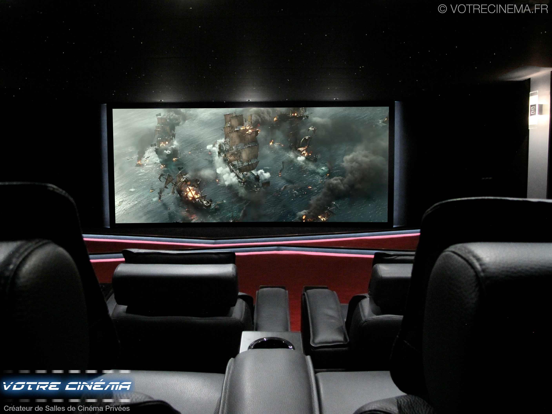 Salle de cinéma privée haut de gamme brazzaville congo
