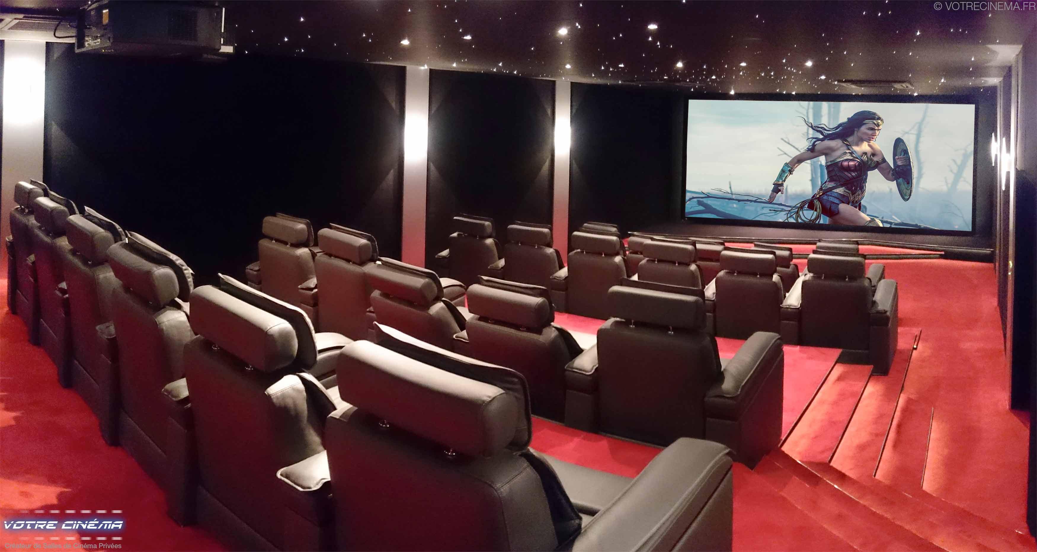 Installation home cinéma privé Burkina Faso