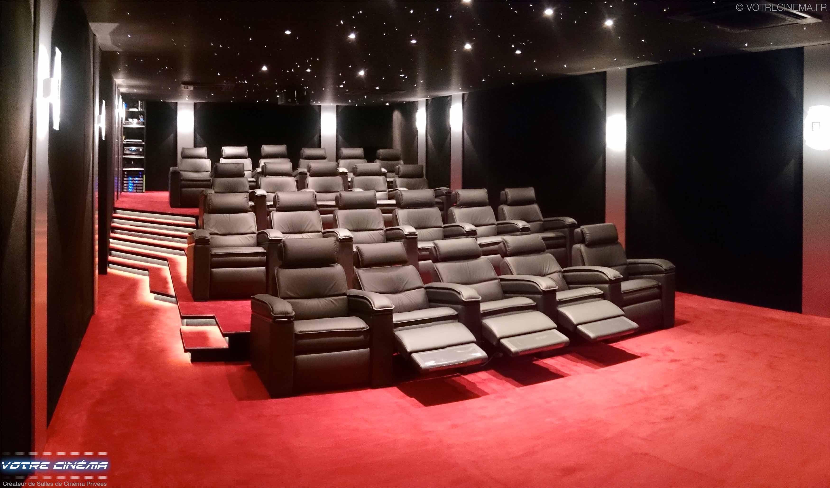 réalisation salle cinéma privée Burkina Faso