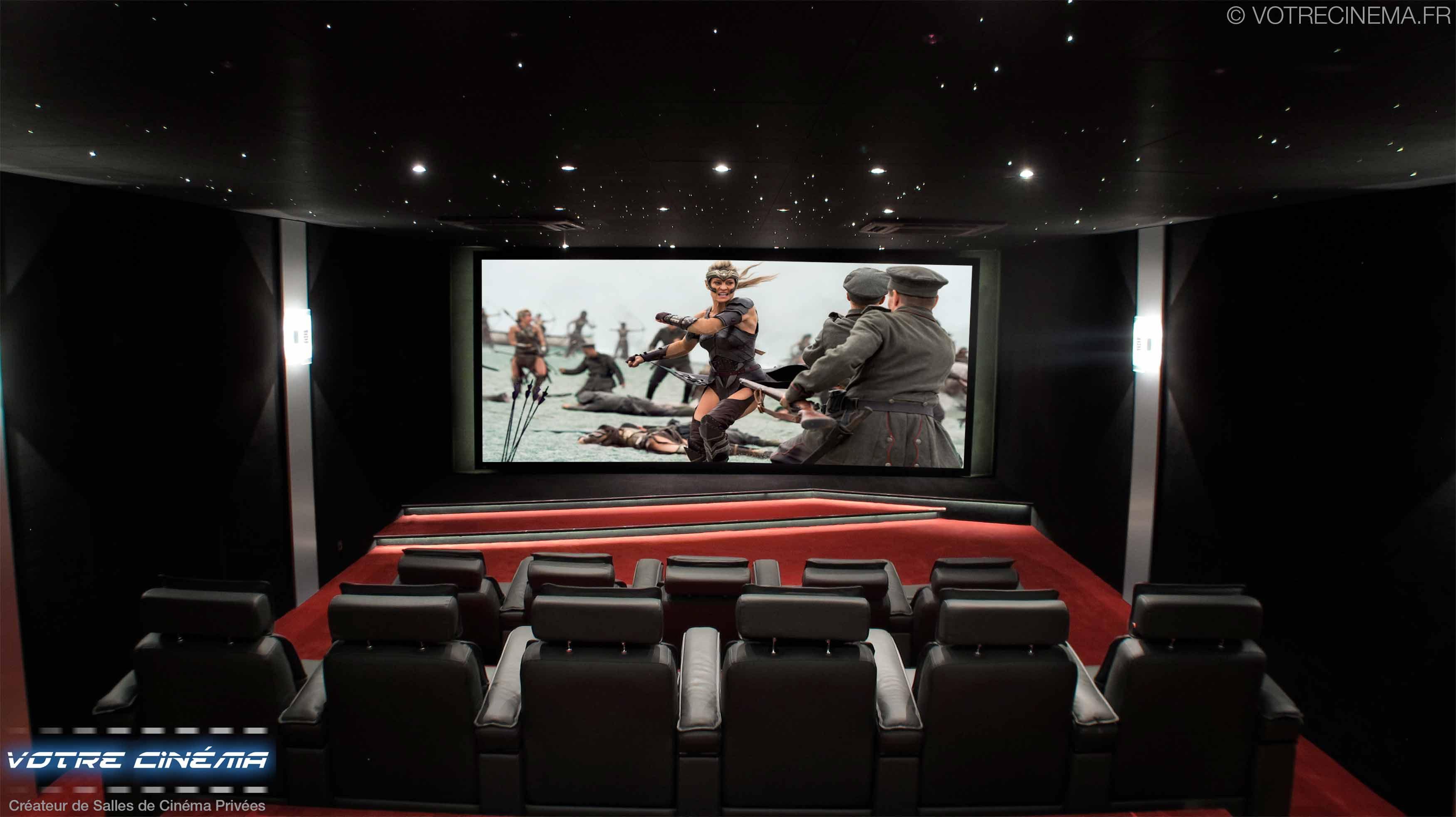 Salle de cinéma privée Burkina Faso