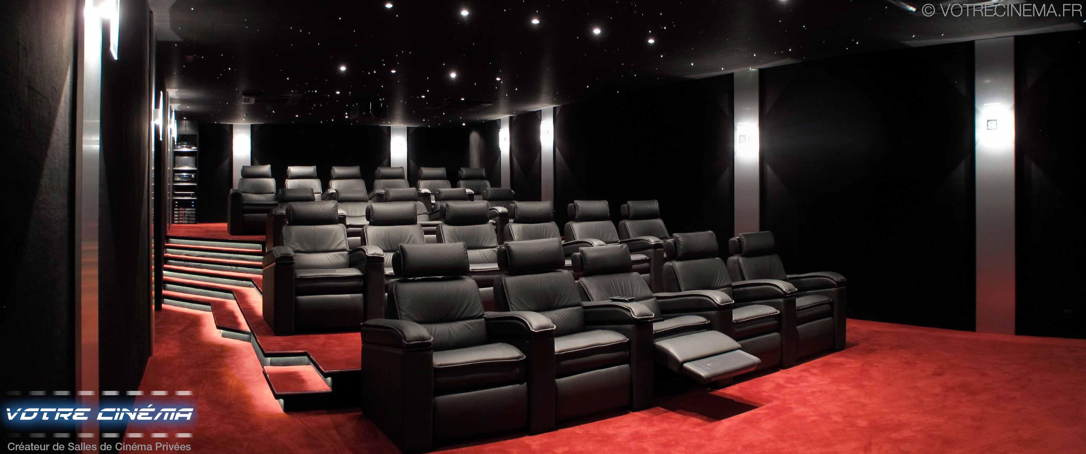 creation salle de cinema privee Burkina Faso