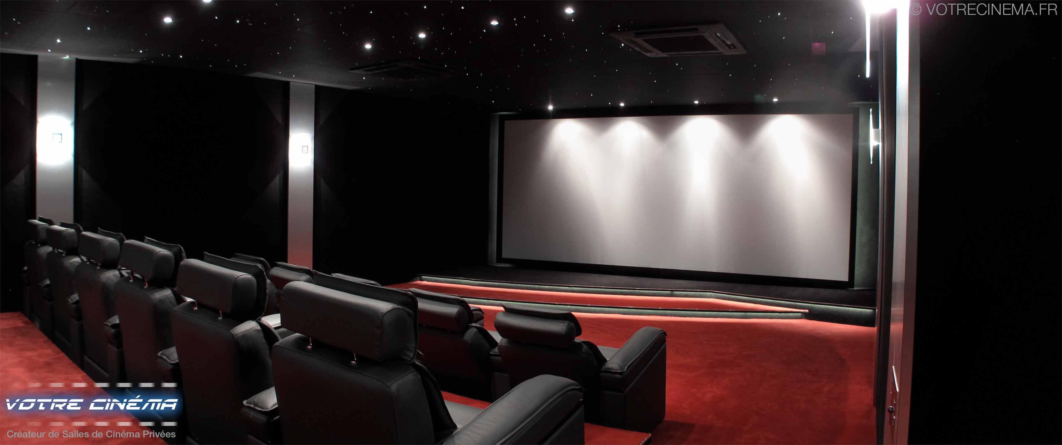 Aménagement salle home cinéma Burkina Faso