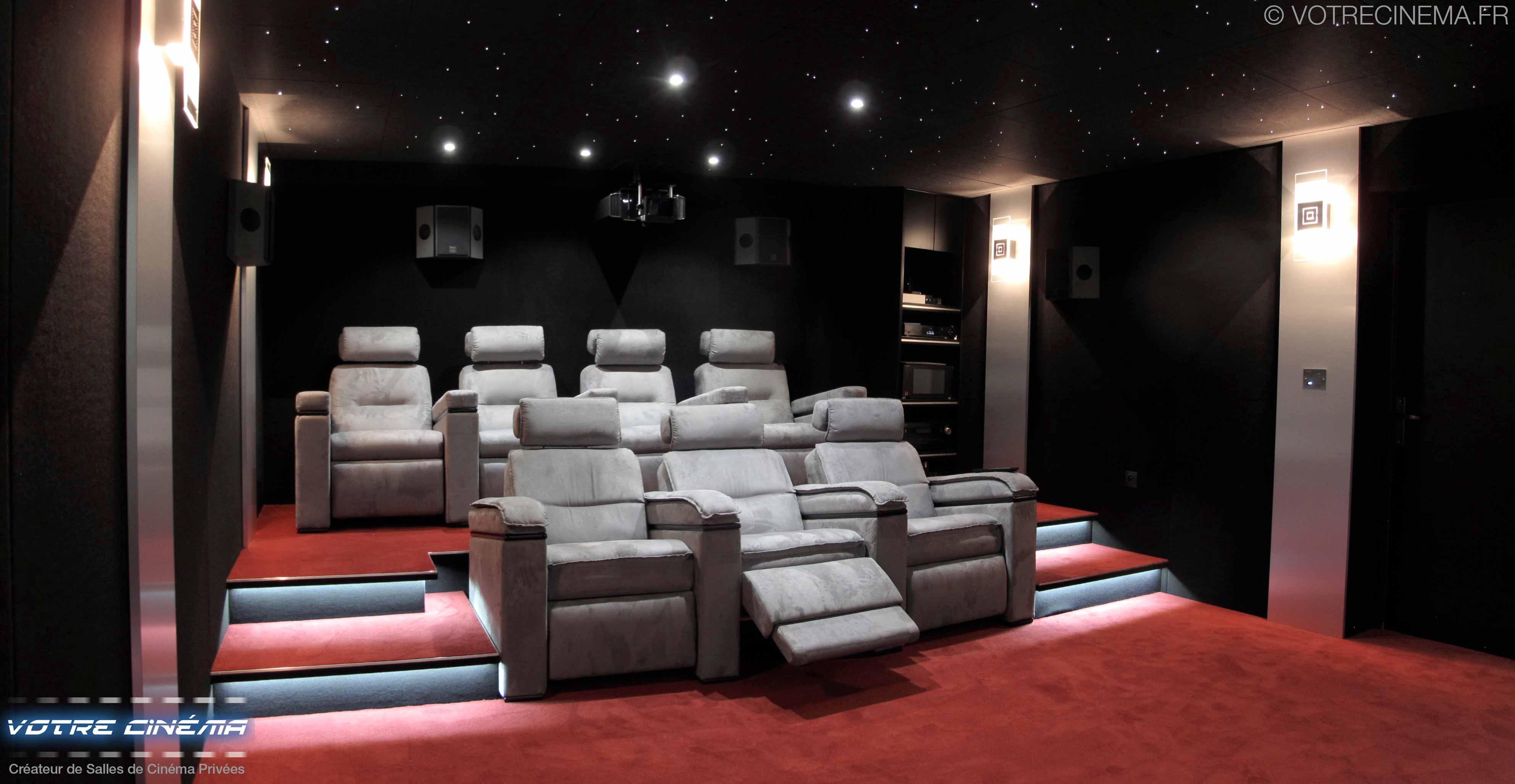 Installation home cinéma privé Marseille
