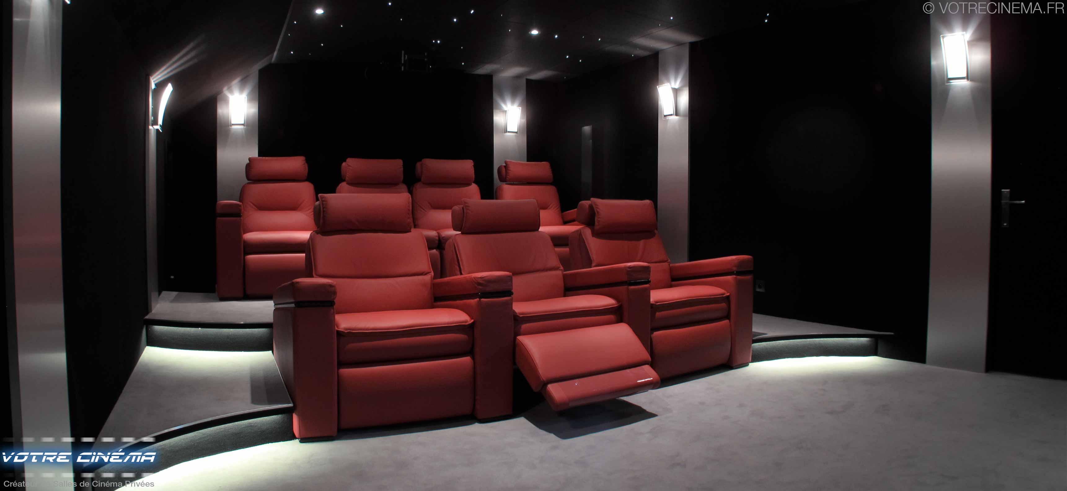 Installation home cinéma privé Paris