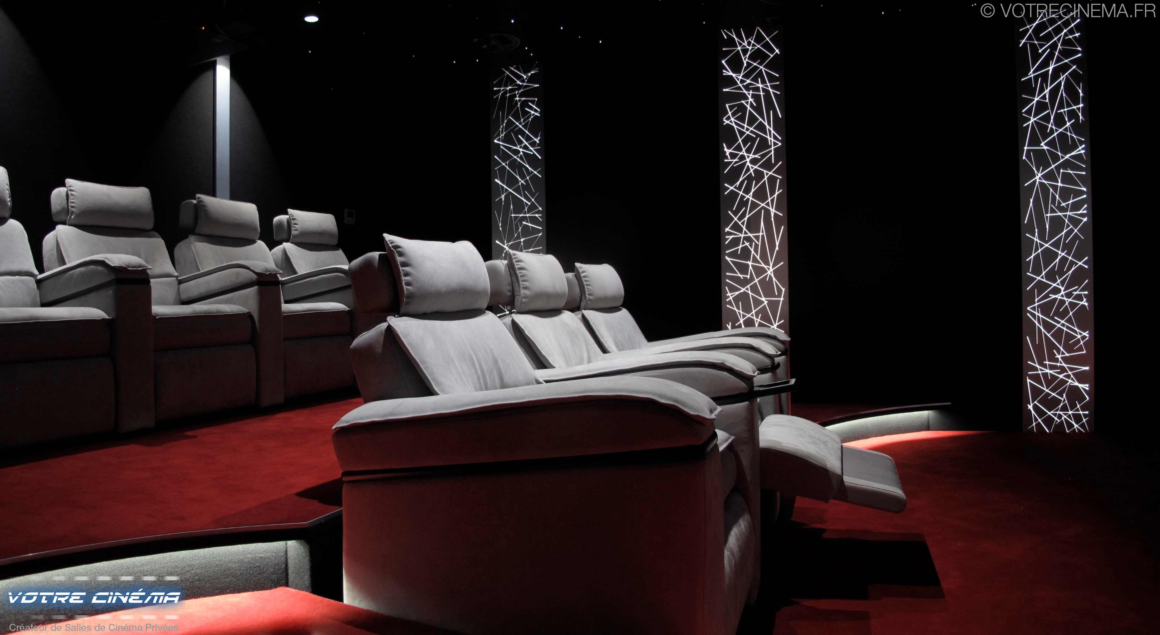 Installation home cinéma privé Montpellier