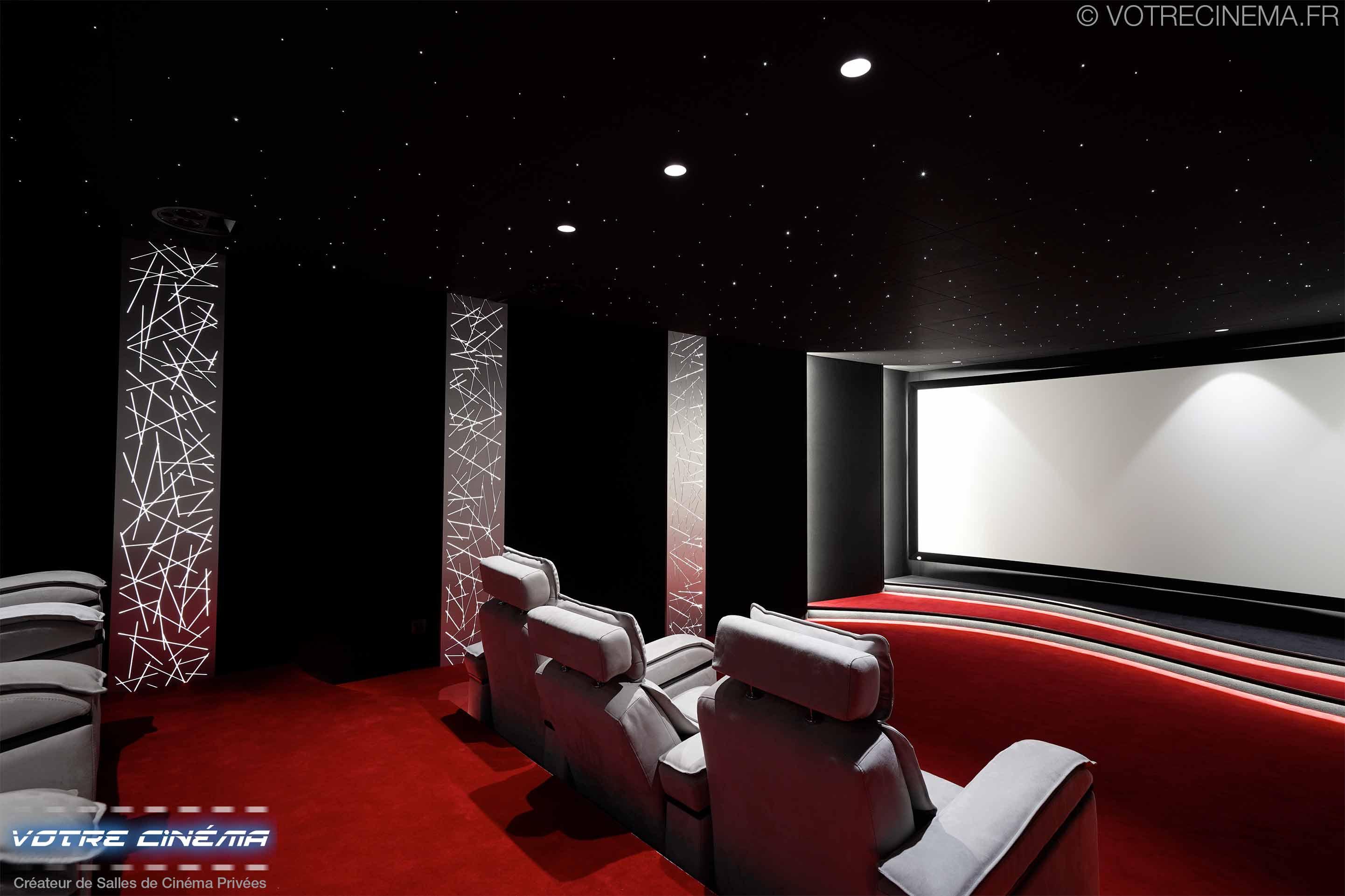 réalisation salle cinéma privée Montpellier