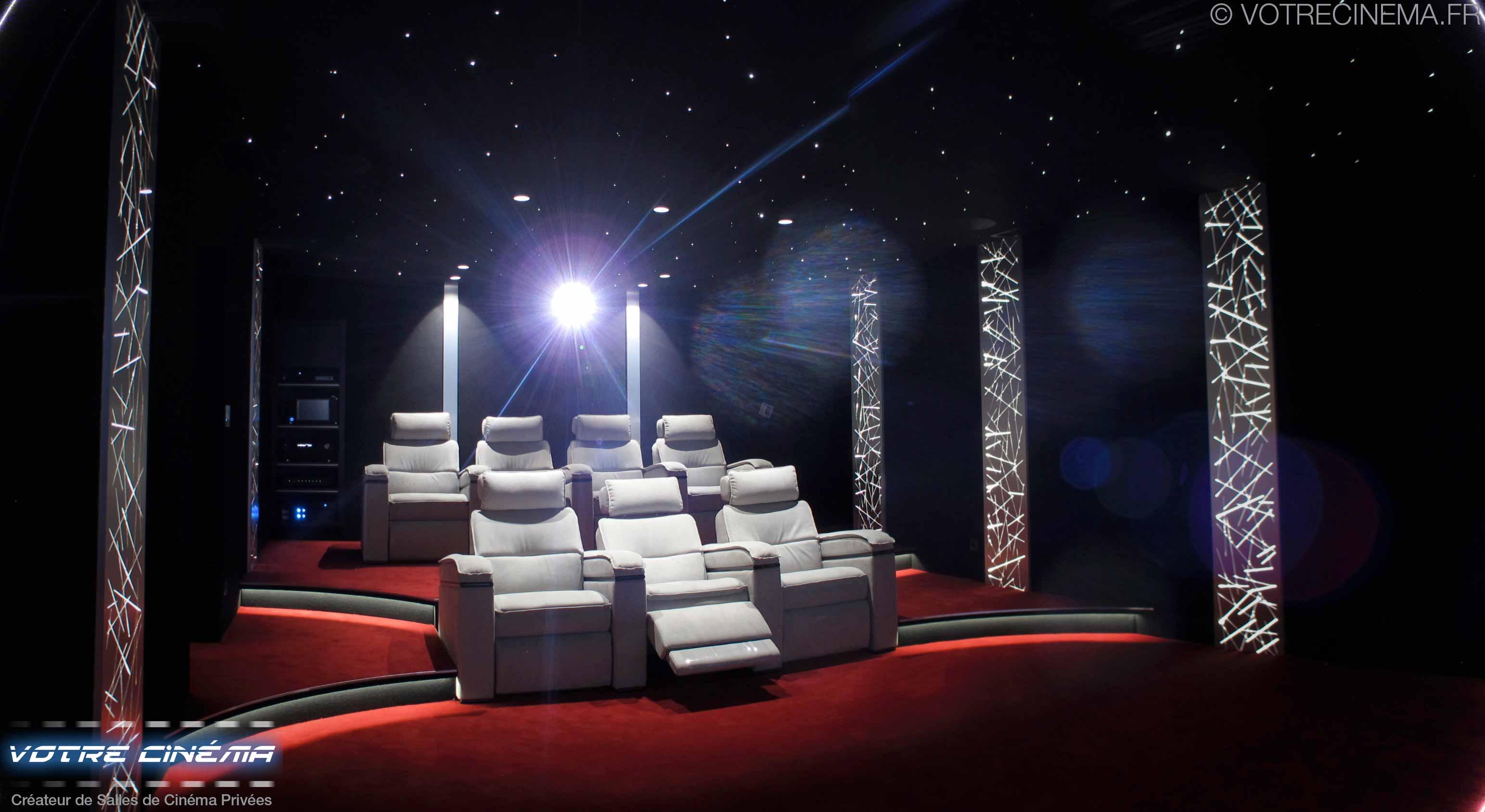 Salle cinéma à domicile Montpellier