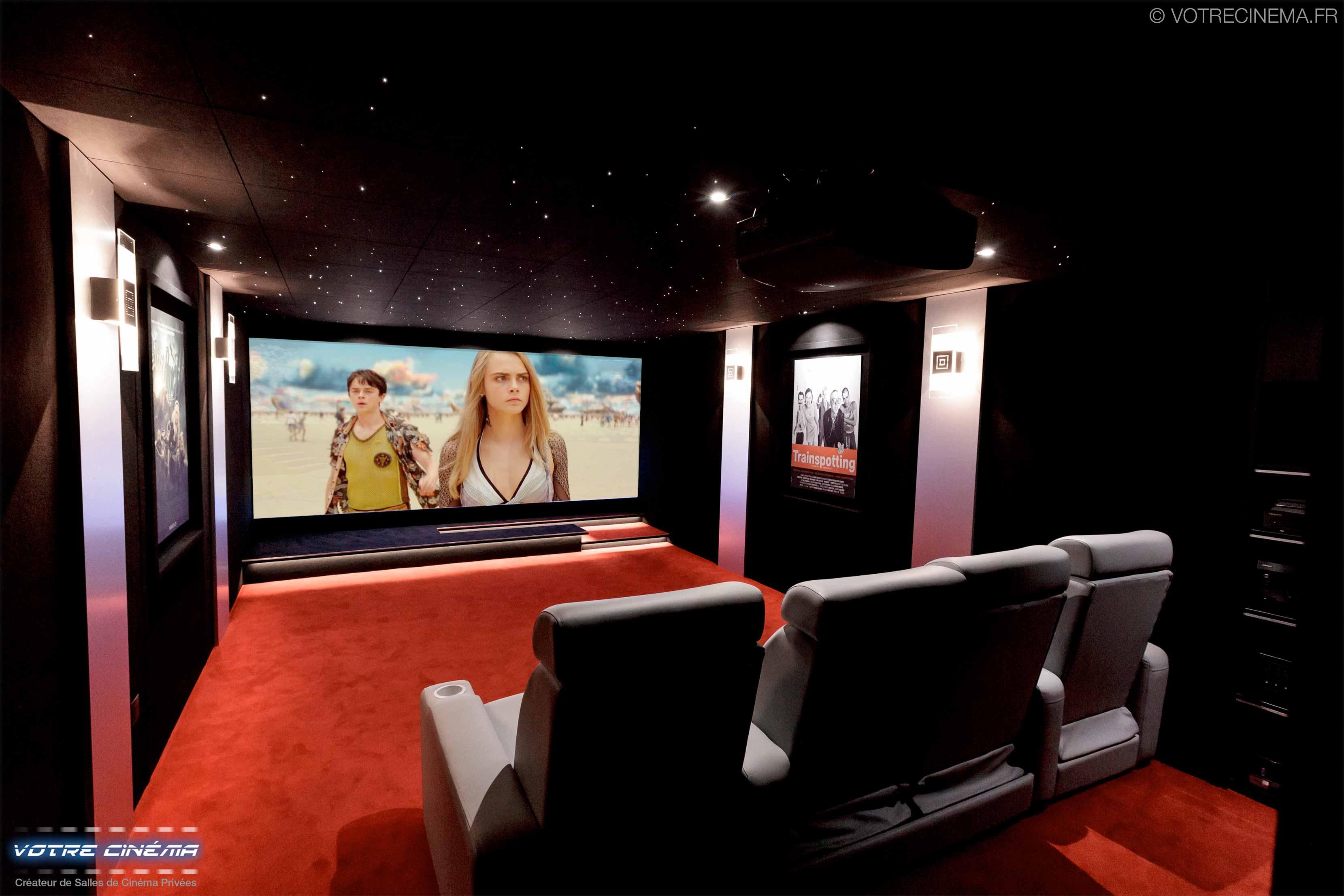 Installation home cinéma privé Mulhouse