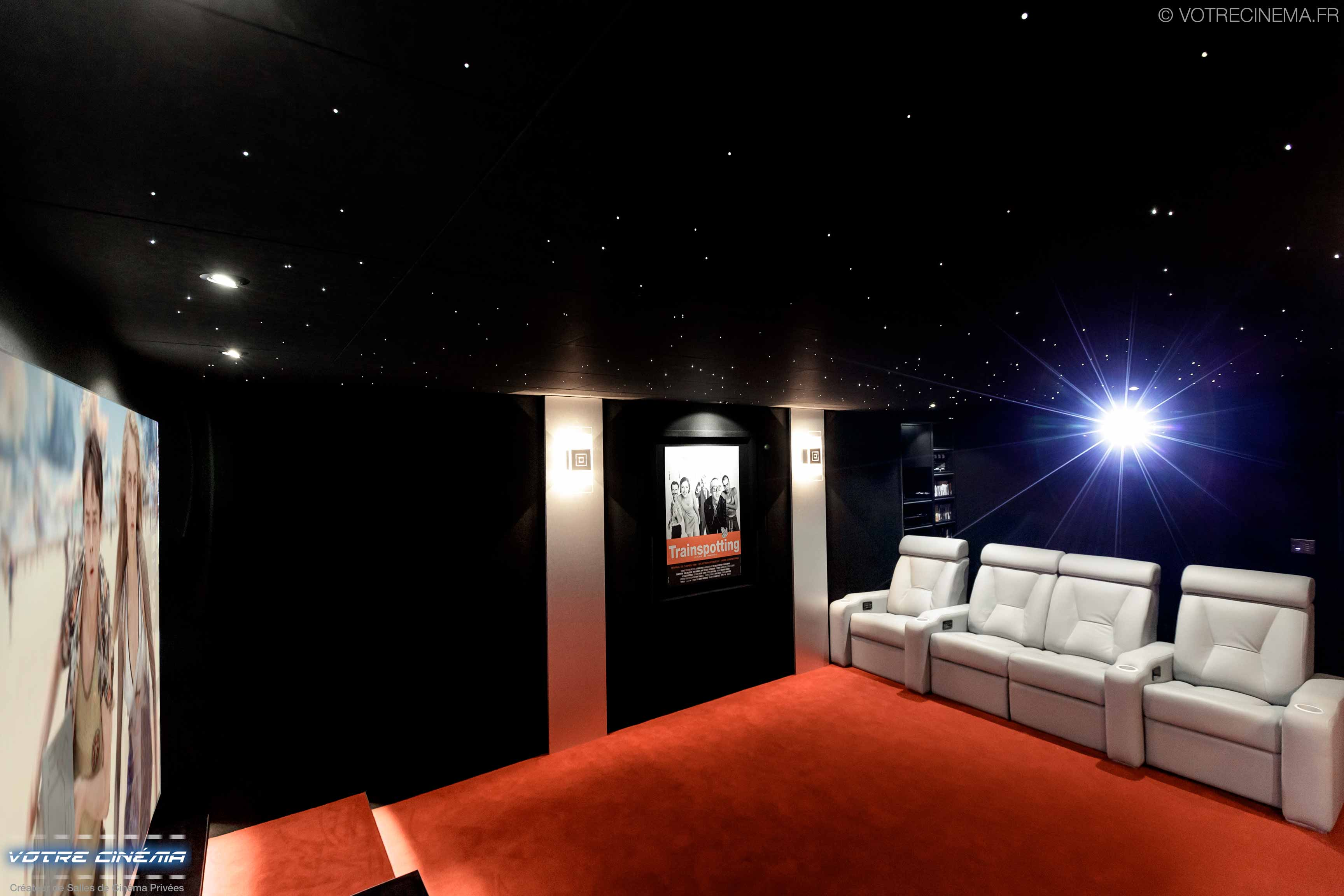 réalisation salle cinéma privée Mulhouse