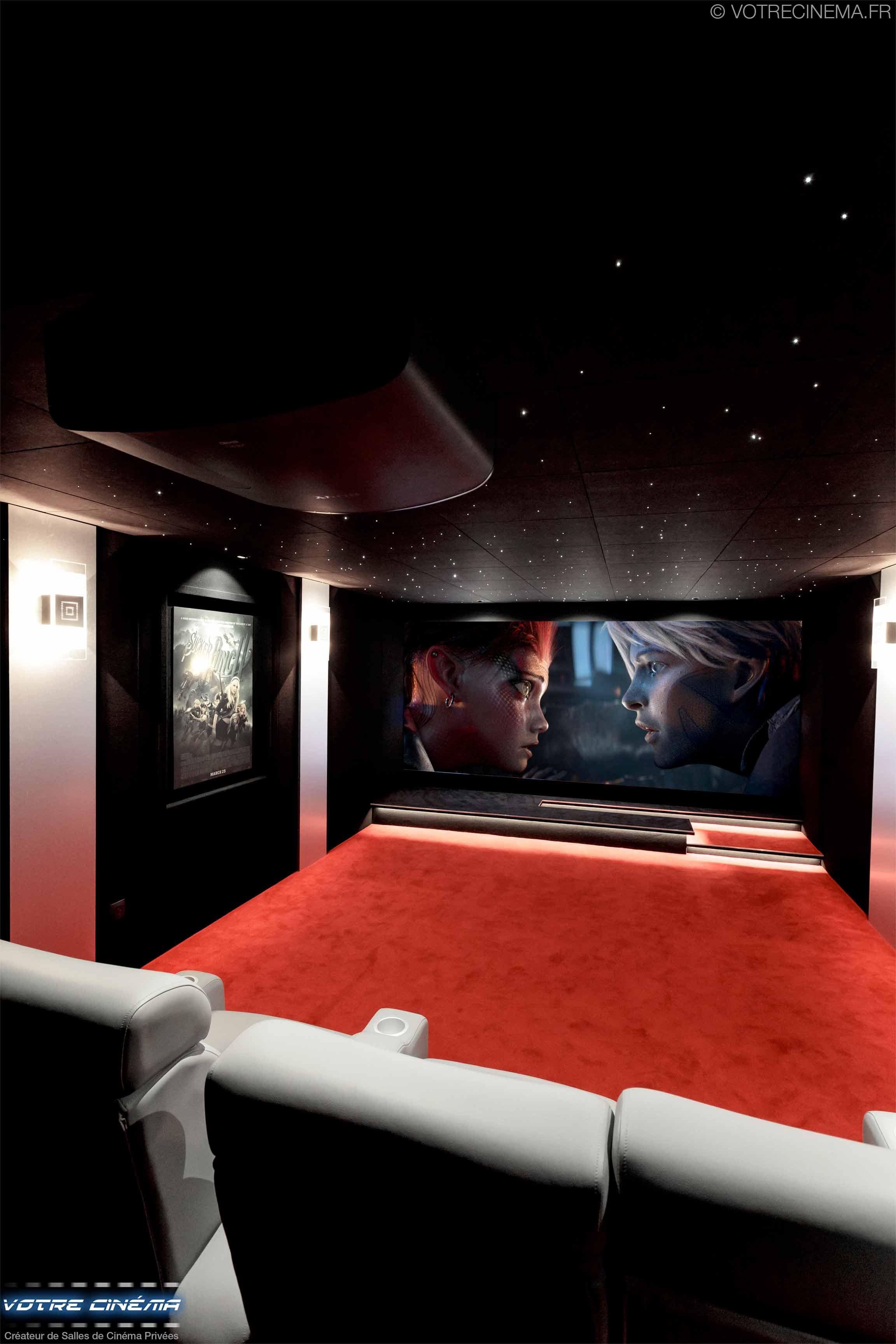 Création de salle de cinéma privée mulhouse