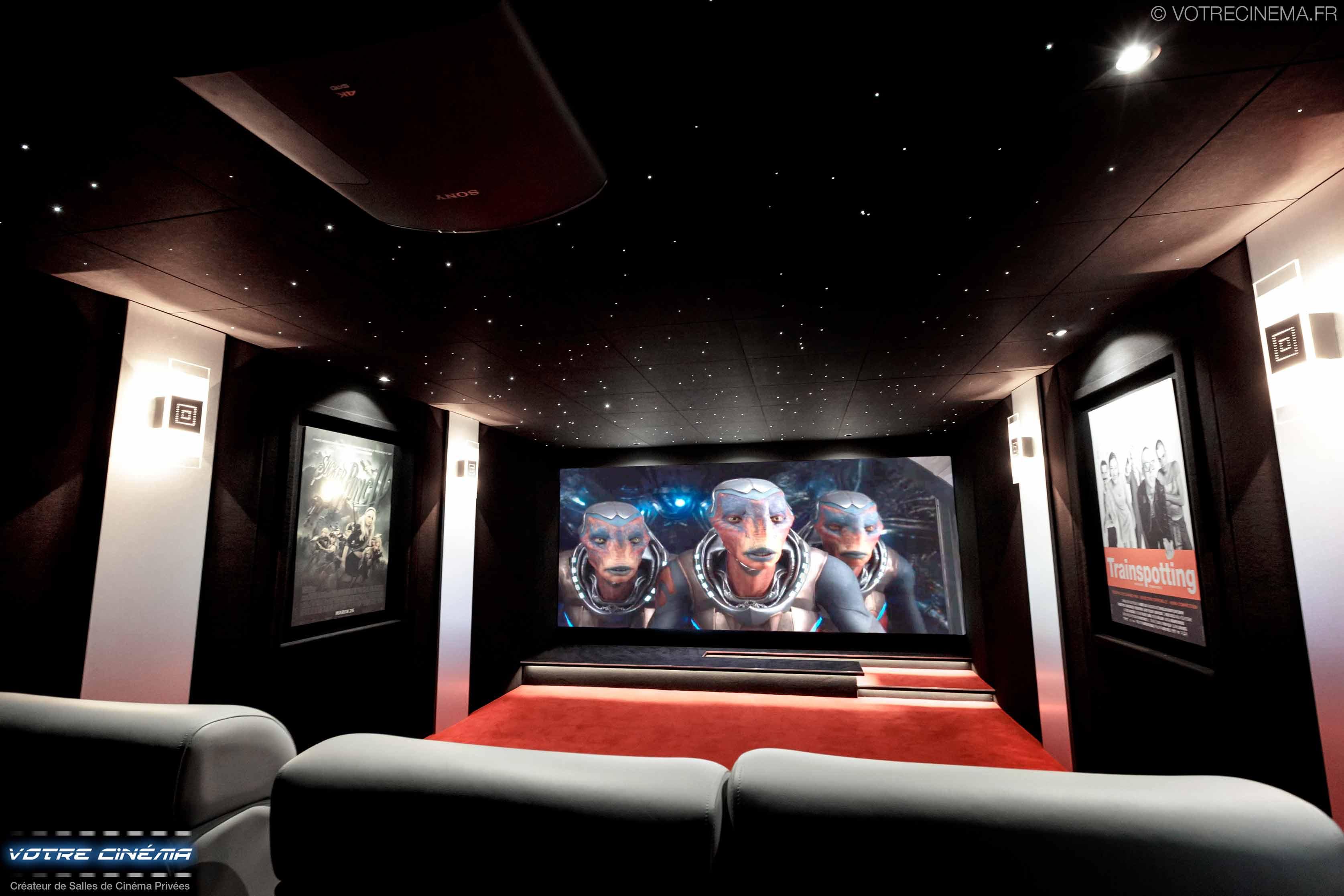 Installation salle de cinéma privée mulhouse