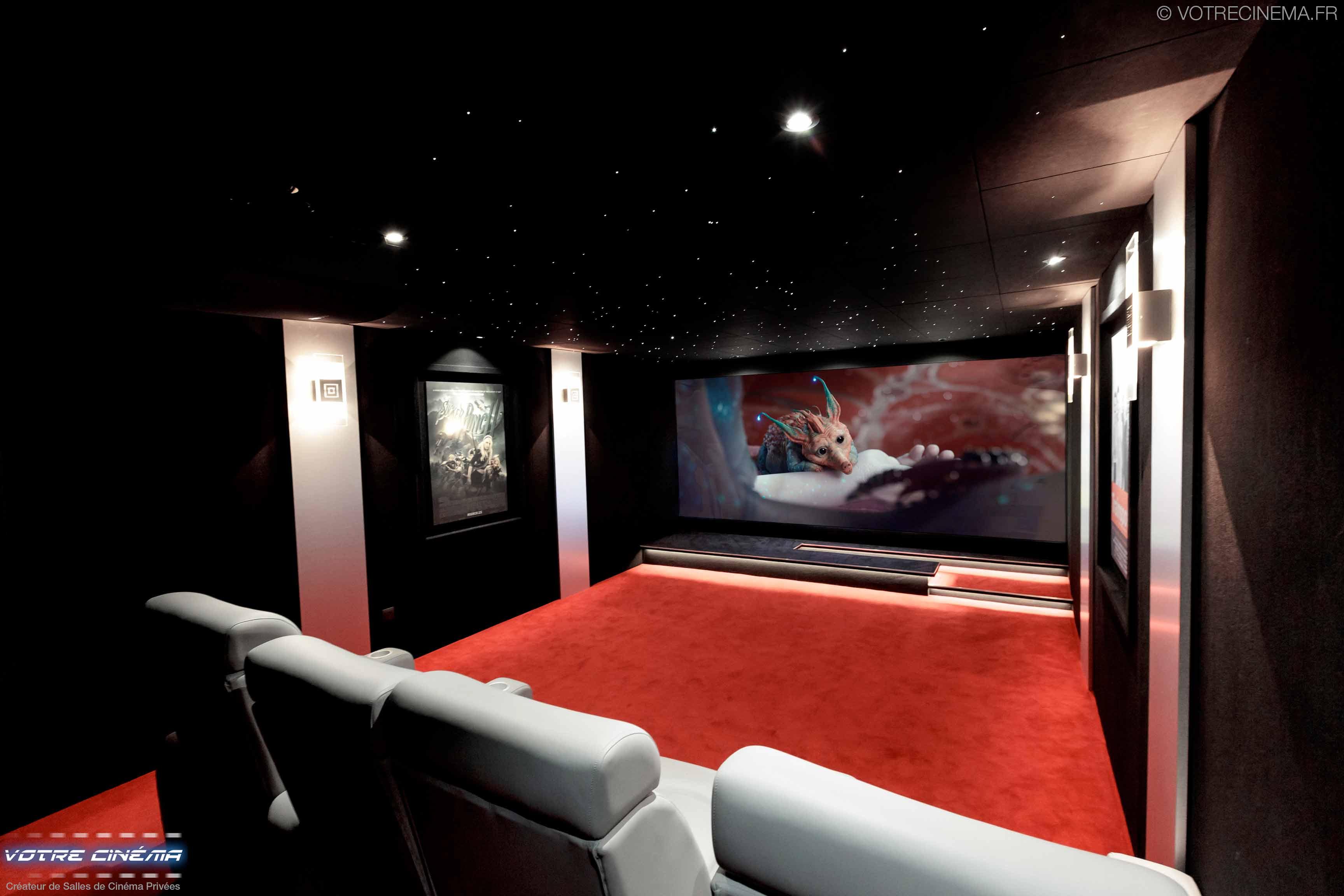 Aménagement salle home cinéma Mulhouse
