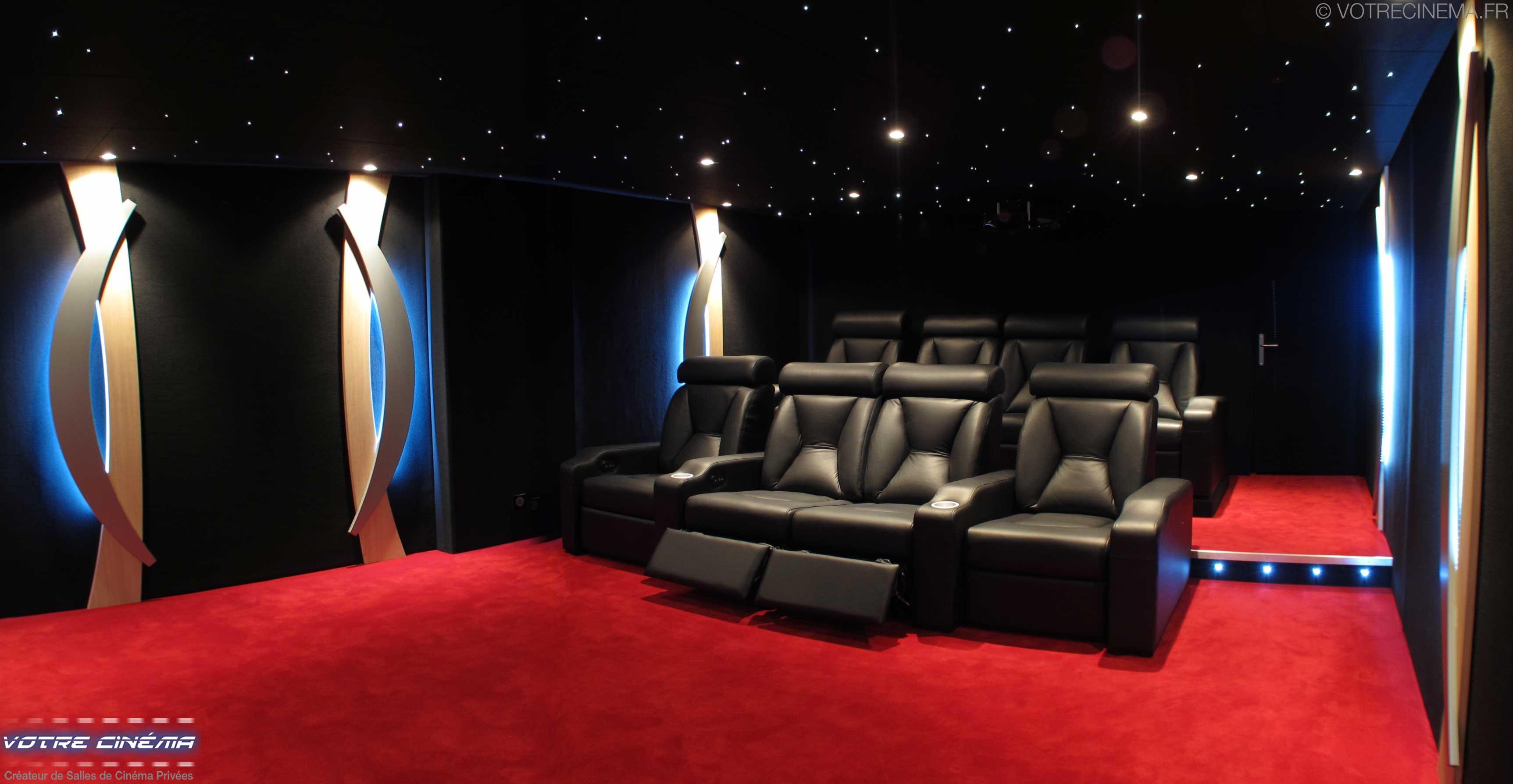 Salle De Home Cinema Privee De Luxe Votre Cinema