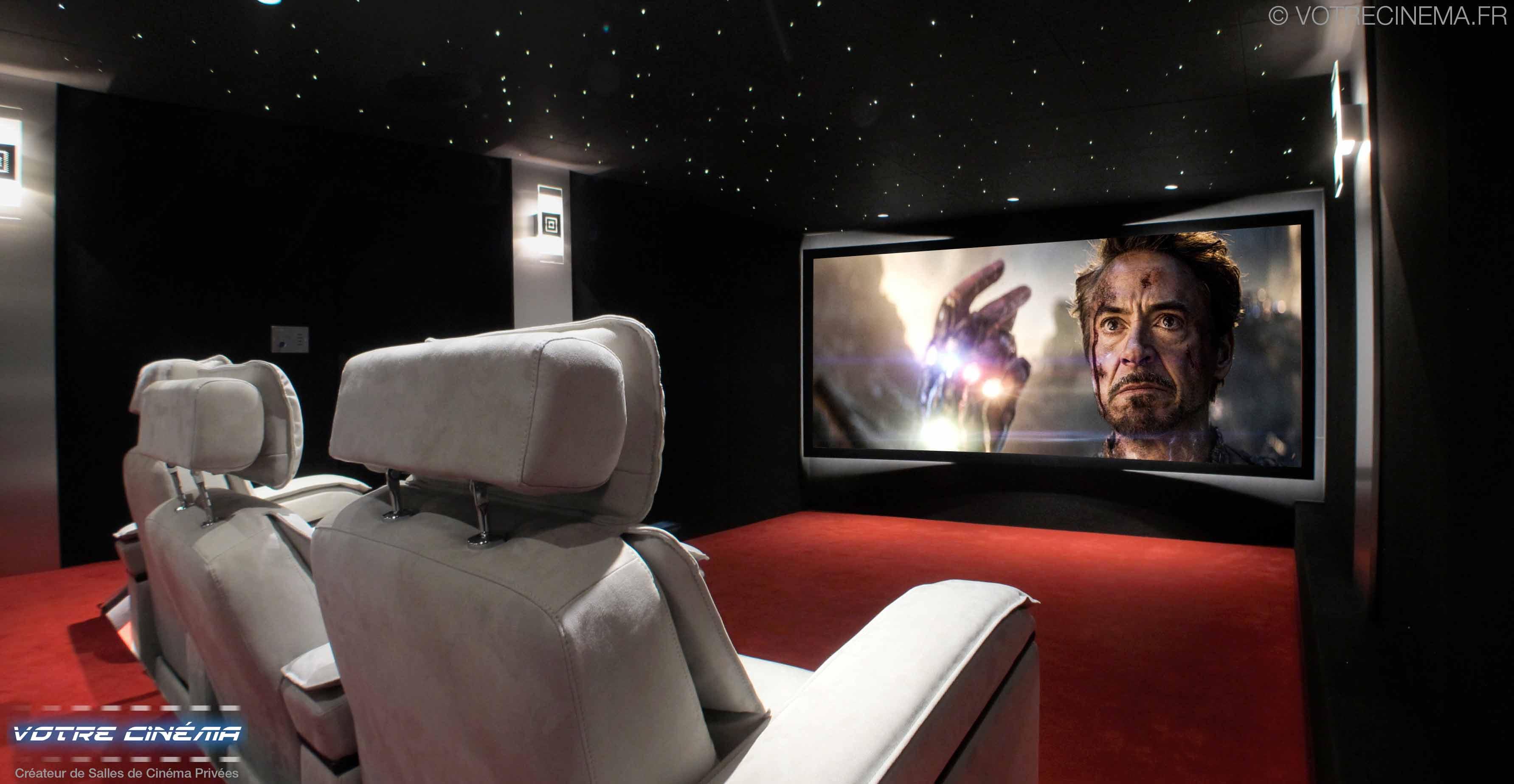 Salle home cinéma Paris