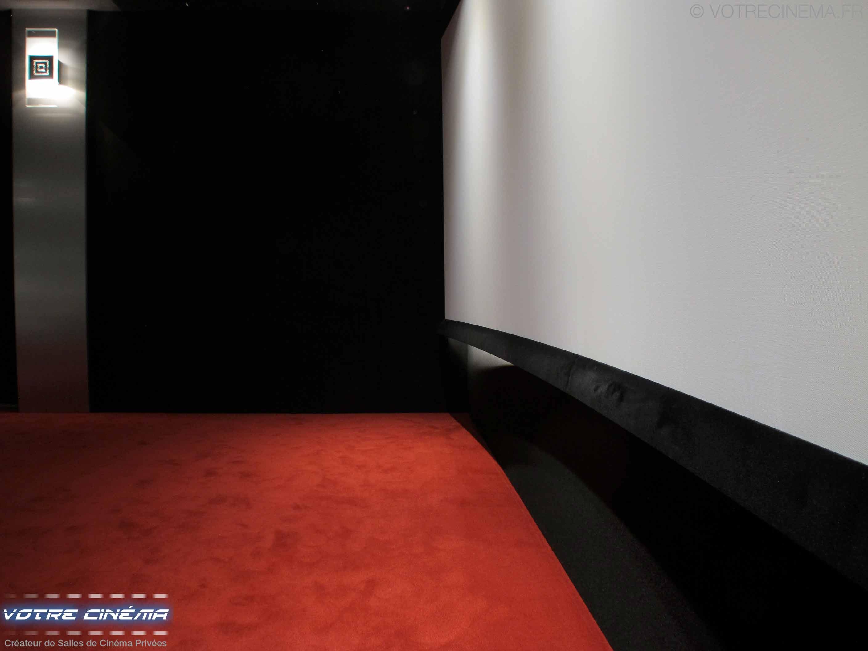 Ecran salle cinéma privée paris
