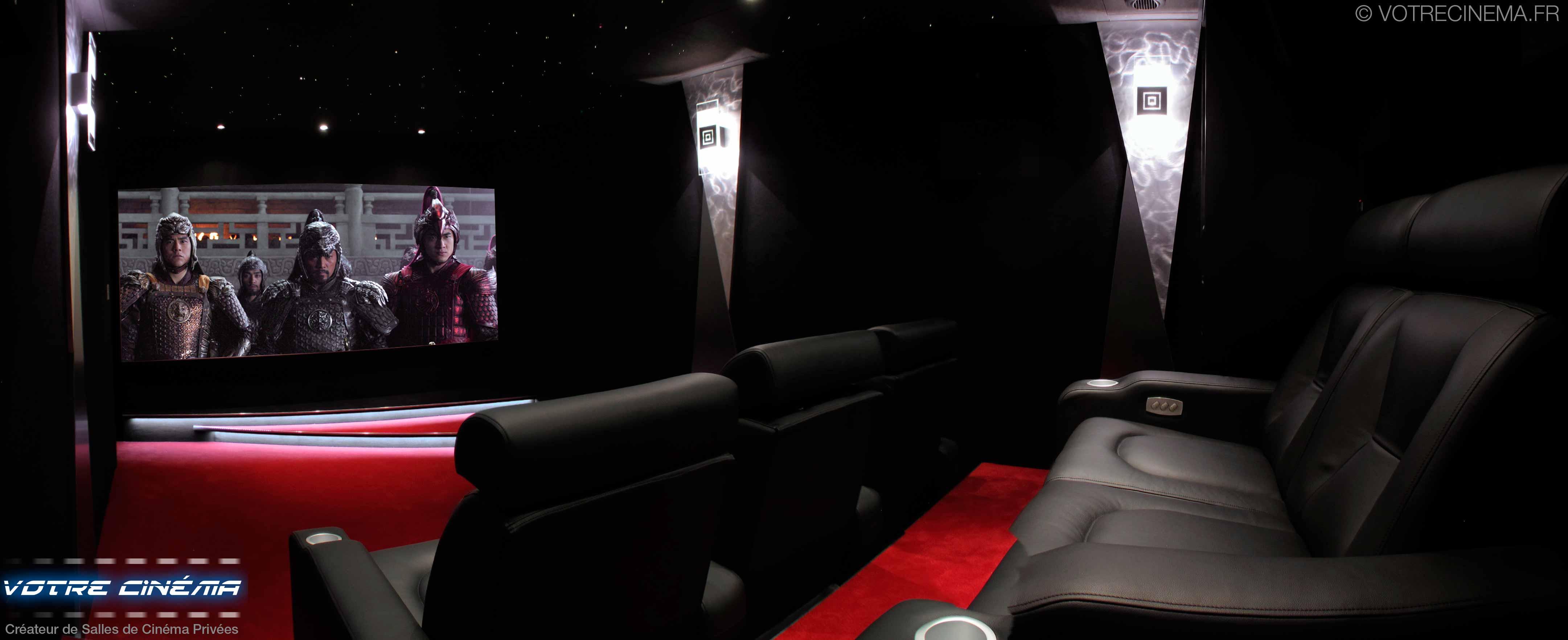 réalisation salle cinéma privée Saint Etienne 42