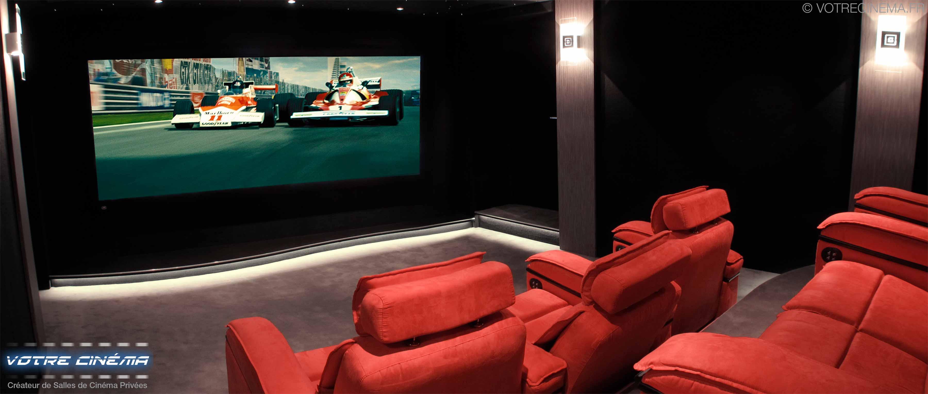 Création de salle de cinéma privée salon de provence