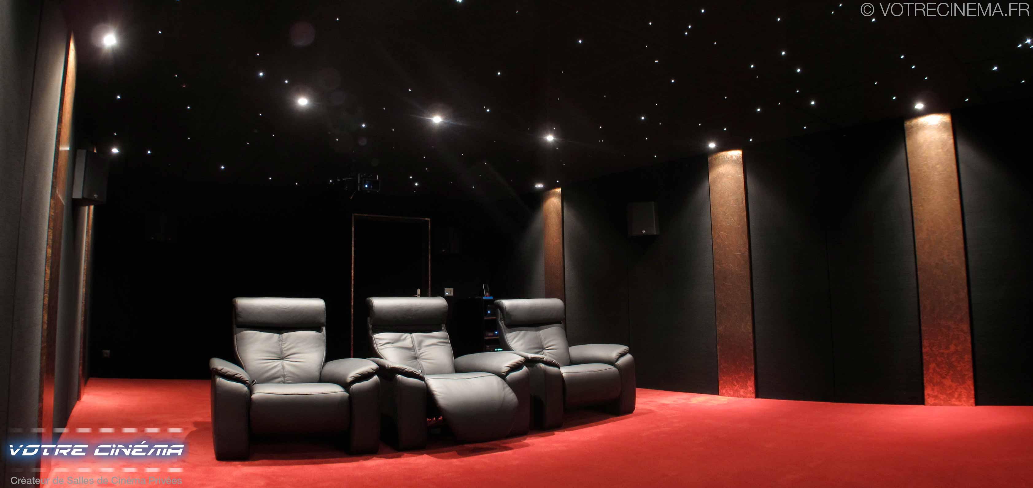 réalisation salle cinéma privée Toulouse