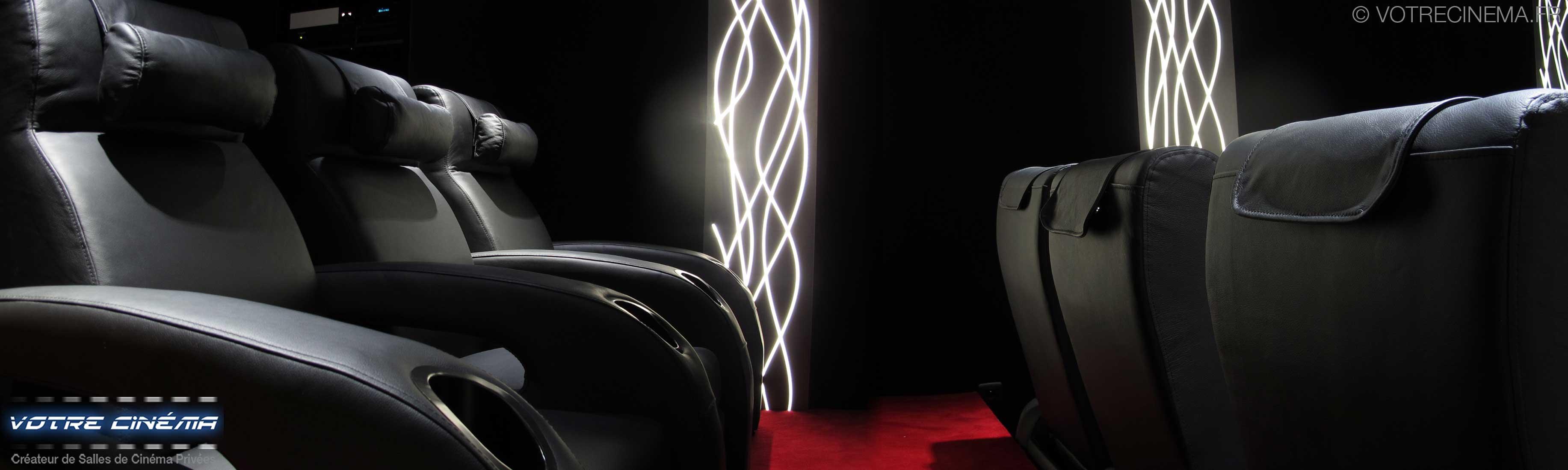 Salle home cinéma privée  Valence