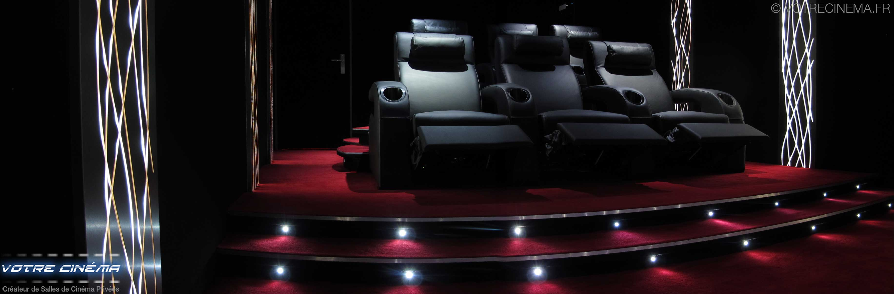 Home cinéma privé luxe Valence